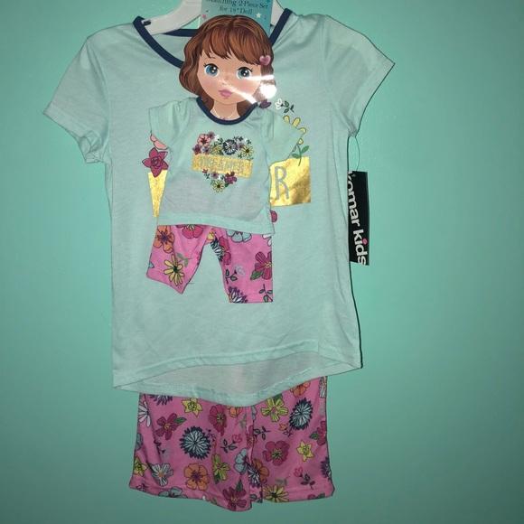 """51e8f889dc Komar Kids Girls Me   Dolly """"Dreamer"""" pajamas set"""